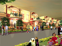 M2K Golden Villas. At Gurgaon.